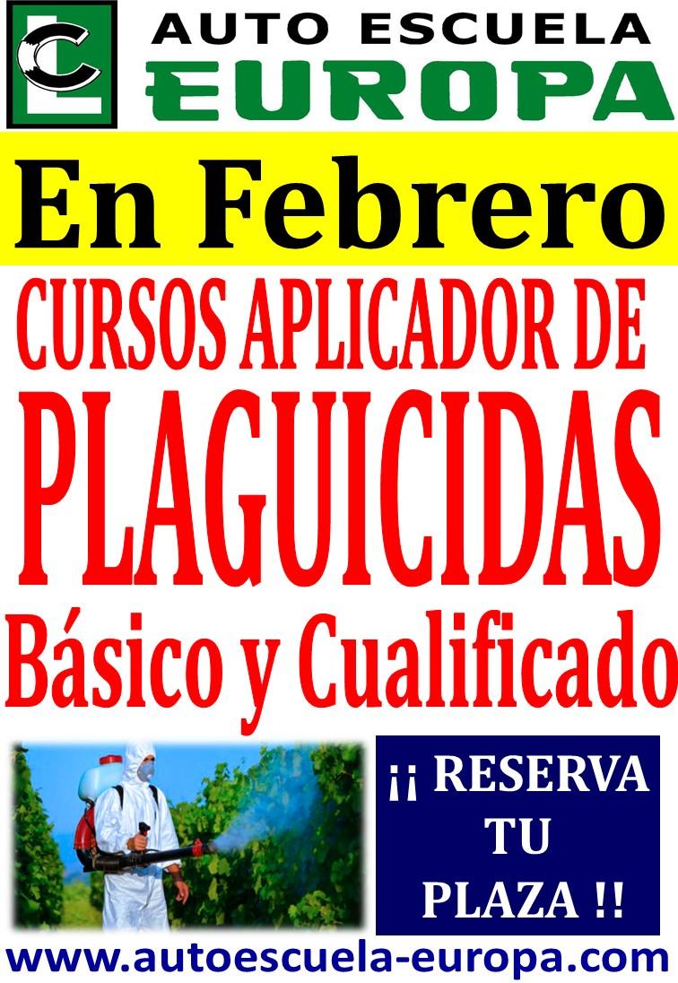 APLICADOR DE PRODUCTOS FITOSANITARIOS.- BÁSICO Y CUALIFICADO