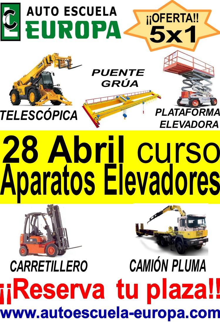 CURSO DE APARATOS ELEVADORES