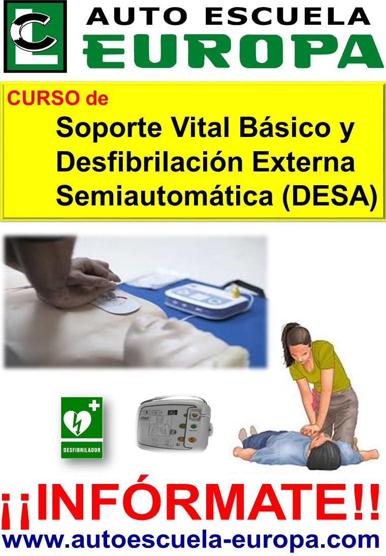 SOPORTE VITAL BÁSICO Y DESFIBRILACIÓN EXTERNA SEMIAUTOMÁTICA