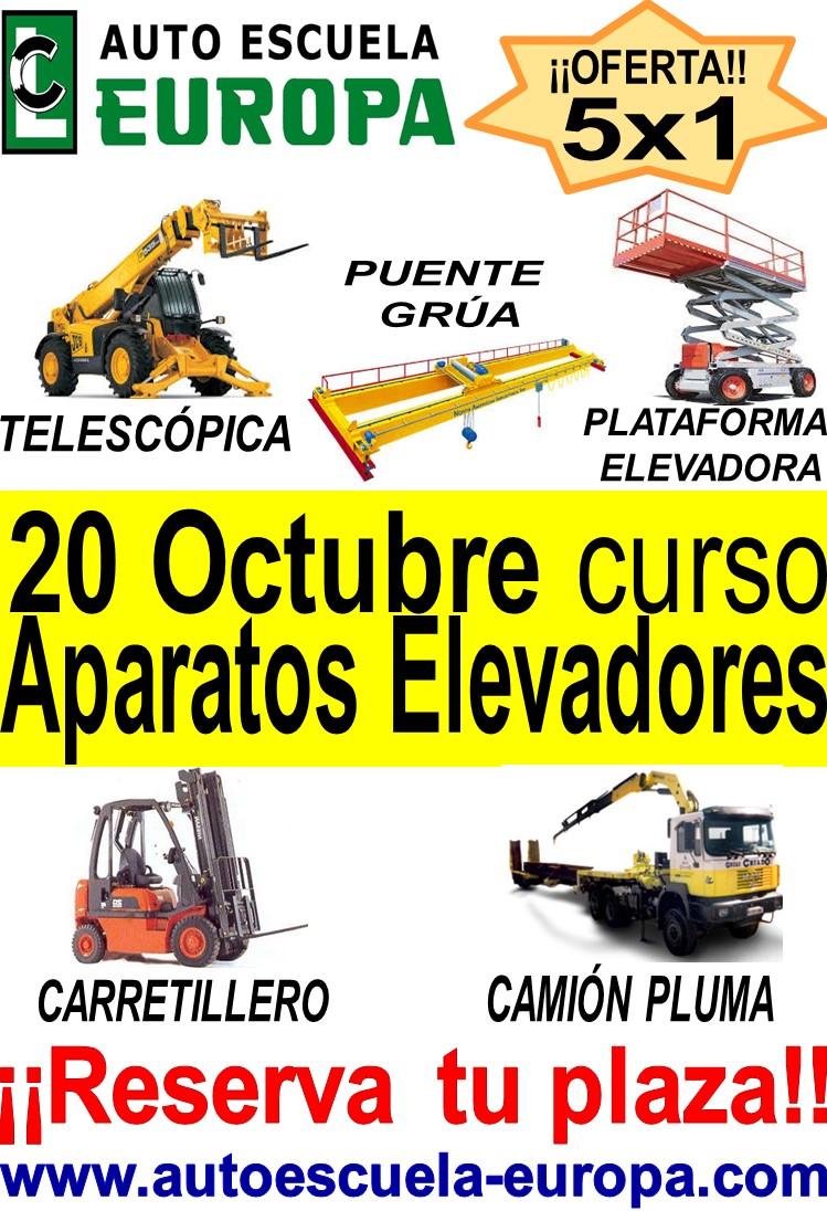 CURSO OPERADOR DE APARATOS ELEVADORES