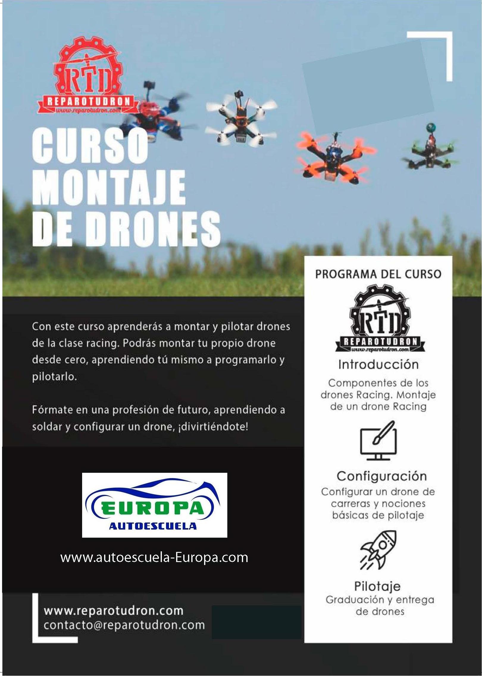 CURSO MONTAJE DE DRONES
