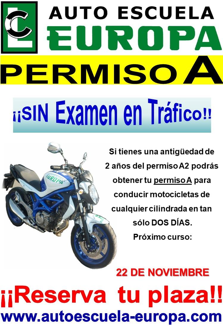 CURSOS PERMISO A