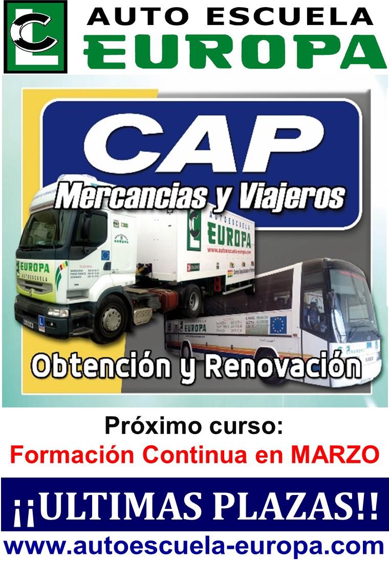 PROXIMO CURSO CAP FORMACIÓN CONTINUA (35h)