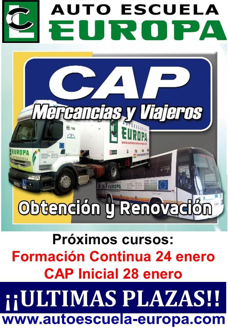 ENERO- CURSO CAP INICIAL…¡¡MERCANCÍAS Y VIAJEROS!!