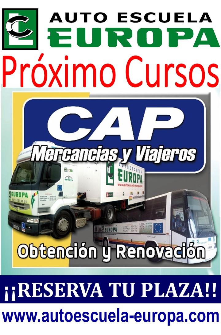 PRÓXIMOS CURSOS CAP