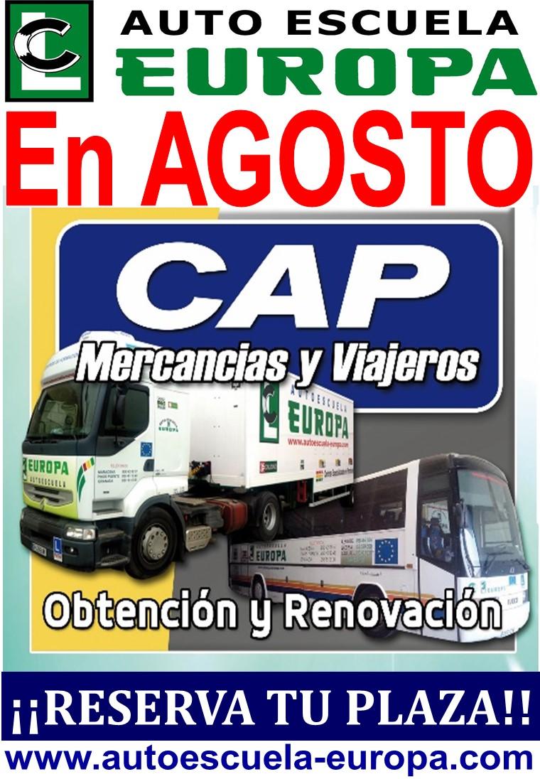 CURSOS CAP RENOVACIÓN MERCANCÍAS Y VIAJEROS (35h)